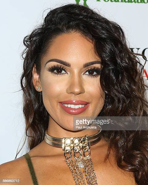 Model Carissa Rosario attends the Babes In Toyland: Support Our Troops event at Le Jardin night club on August 3, 2016 in Hollywood, California.