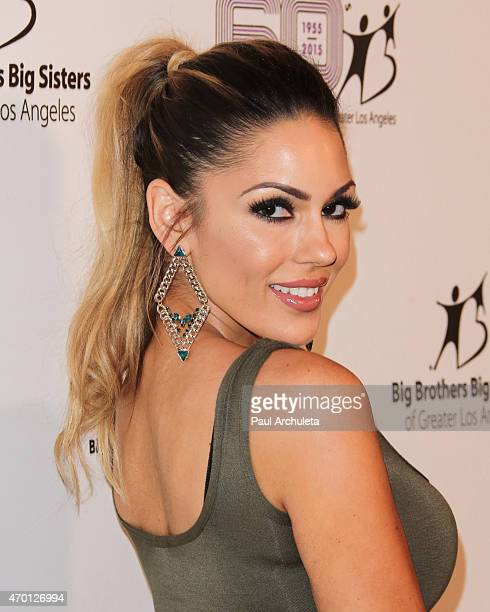 Model Carissa Rosario attends the Big Brothers Big Sisters Of Greater Los Angeles annual Accessories For Success Luncheon & Fashion Show at Regent...