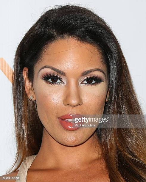 """Model Carissa Rosario attends the premiere of """"Tie The Knot"""" at the Pacific Theatre at The Grove on May 4, 2016 in Los Angeles, California."""