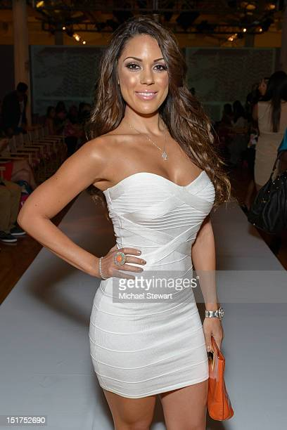 Model Carissa Rosario attends the Sammi Sweetheart 2013 Style 360 Fashion show at Style 360 at Met Pavilion on September 10, 2012 in New York City.