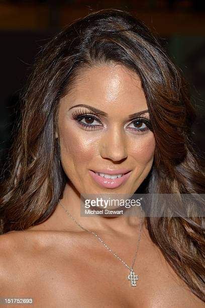 Model Carissa Rosario attends the Sammi Sweetheart 2013 Style 360 Fashion show at Style 360 at Met Pavilion on September 10 2012 in New York City