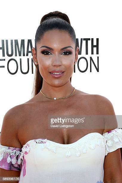 Model Carissa Rosario attends the Say NO Bullying Festival at Griffith Park on August 13 2016 in Los Angeles California