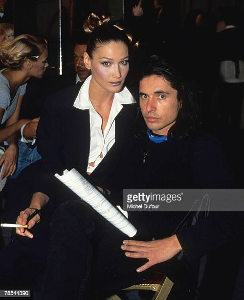 PARIS Model Carla Bruni poses with Arno Klarsfeld in Paris France According to reports December 18 2007 French President Nicolas Sarkozy has asked...