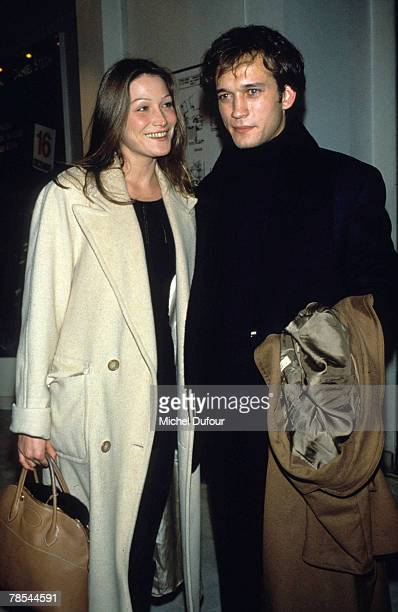 PARIS Model Carla Bruni poses with Vincent Perez in Paris France According to reports December 18 2007 French President Nicolas Sarkozy has asked the...