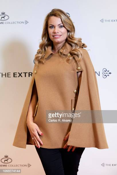 Model Carla Goyanes inaugurates the Extreme Collection store at CC Moraleja Green on October 25 2018 in Alcobendas Spain