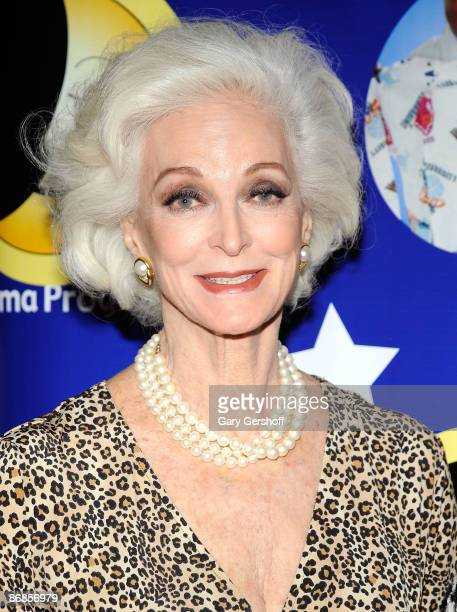 Model Carmen Dell 'Orefice attends the Pajama Program Awards' New York City luncheon at The Pierre Hotel on May 8 2009 in New York City