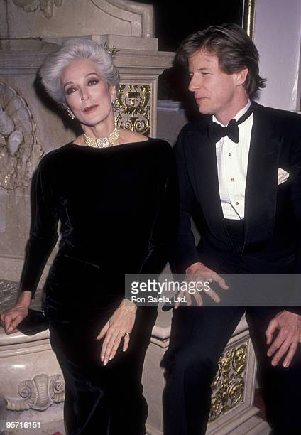 """Model Carmen Dell'Orefice attends """"Women We Love"""" on March 7, 1990 at the Plaza Hotel in New York City."""