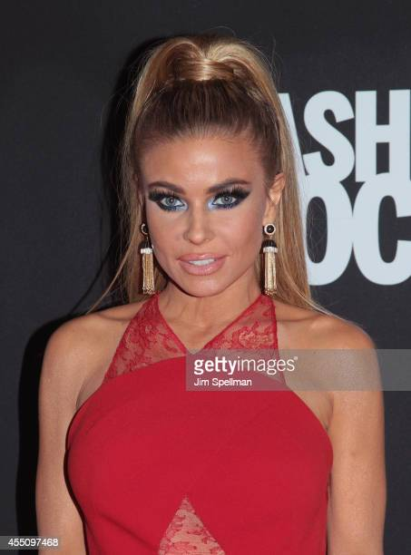 Model Carmen Electra attends Fashion Rocks 2014 at Barclays Center on September 9 2014 in the Brooklyn borough of New York City