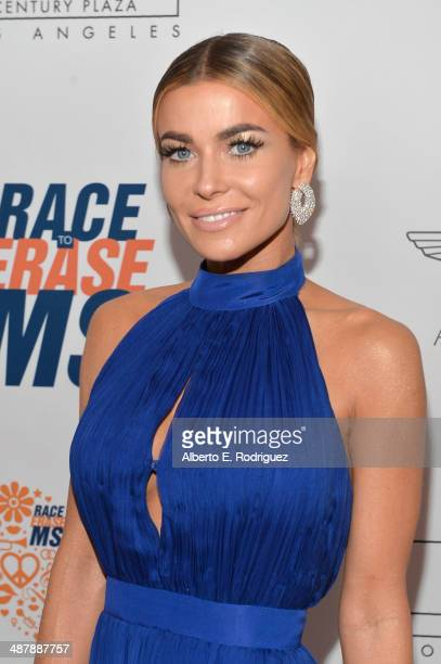 Model Carmen Electra attends the 21st annual Race to Erase MS at the Hyatt Regency Century Plaza on May 2, 2014 in Century City, California.