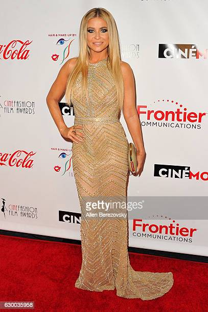 Model Carmen Electra attends the 3rd Annual Cinefashion Film Awards at Saban Theatre on December 15 2016 in Beverly Hills California