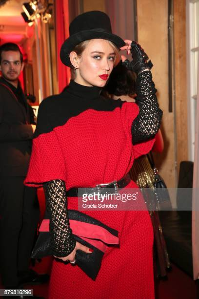 Model Caro Cult during the New Faces Award Style 2017 at 'The Grand' hotel on November 15 2017 in Berlin Germany
