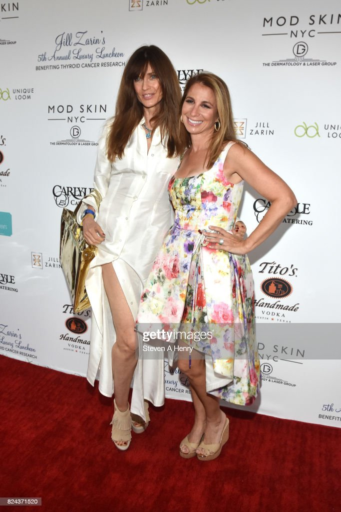 Model Carol Alt and Jill Zarin attend Jill Zarin's 5th Annual Luxury Luncheon at Private Residence on July 29, 2017 in Southampton, New York.
