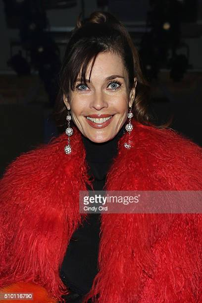 Model Carol Alt attend the Zang Toi fashion show during Fall 2016 New York Fashion Week: The Shows at Pier 59 Studios on February 13, 2016 in New...