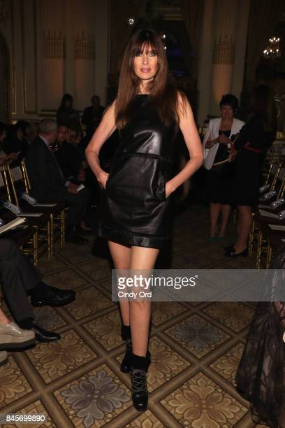 Model Carol Alt attends Dennis Basso fashion show during New York Fashion Week The Shows at The Plaza Hotel on September 11 2017 in New York City