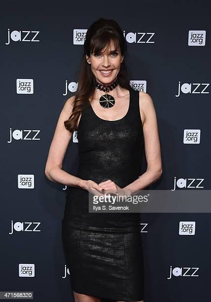 Model Carol Alt attends Jazz At Lincoln Center's 2015 Annual Gala at Jazz At Lincoln Center at the Times Warner Center on April 29 2015 in New York...