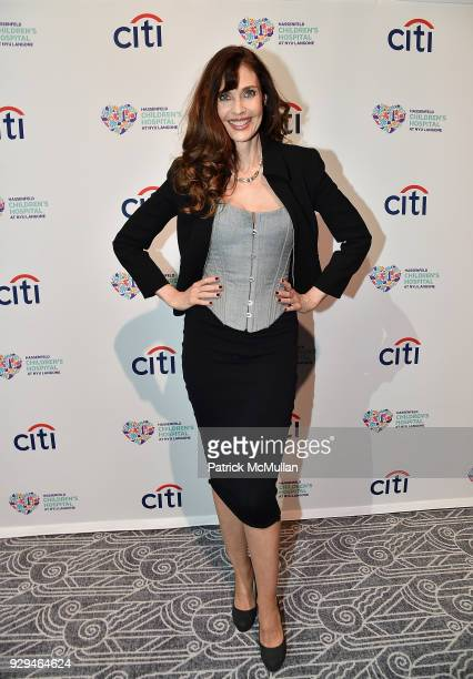 Model Carol Alt attends NYU Langone Health's Playing for Pediatrics Winter Game Night on March 8 2018 in New York City