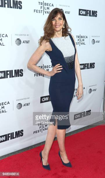 Model Carol Alt attends the 2018 Tribeca Film Festival opening night premiere of 'Love Gilda' at Beacon Theatre on April 18 2018 in New York City