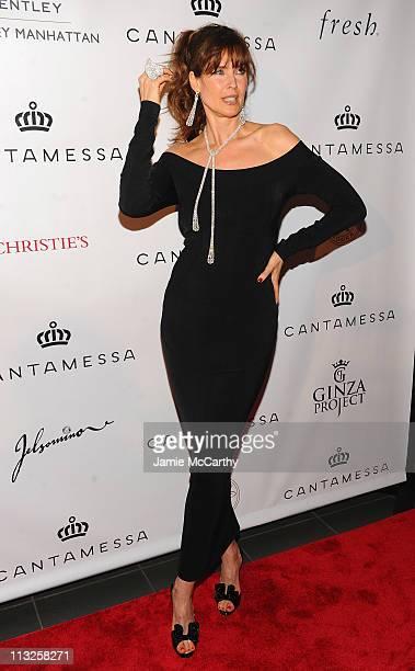 Model Carol Alt attends the Cantamessa Jewels U.S. Launch at Manhattan Motorcars Showroom on April 28, 2011 in New York City.