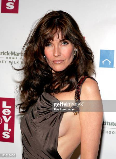 Model Carol Alt attends the HetrickMartin Institutes 2004 Emery Awards at Capitale December 2 2003 in New York City