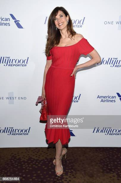 Model Carol Alt attends The Hollywood Reporter 35 Most Powerful People In Media 2017 at The Pool on April 13 2017 in New York City