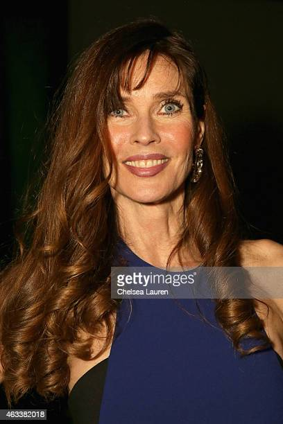 Model Carol Alt attends the Nicole Miller fashion show during MercedesBenz Fashion Week Fall 2015 at The Salon at Lincoln Center on February 13 2015...