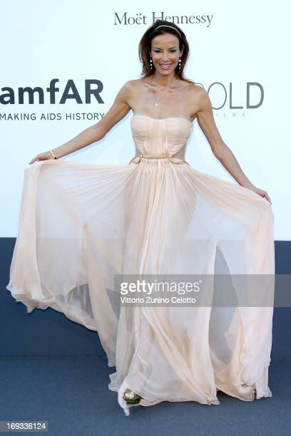Model Carolina Parsons attends amfAR's 20th Annual Cinema Against AIDS during The 66th Annual Cannes Film Festival at Hotel du CapEdenRoc on May 23...