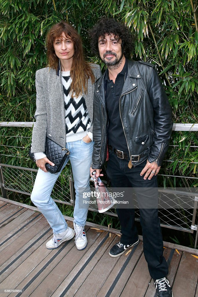 Celebrities at French Open 2016 - Day Fifteen