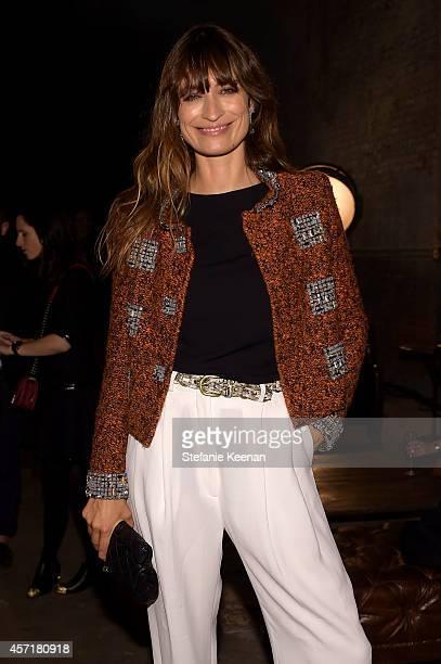 Model Caroline de Maigret attends the CHANEL Dinner Celebrating N°5 THE FILM by Baz Luhrmann on October 13 2014 in New York City