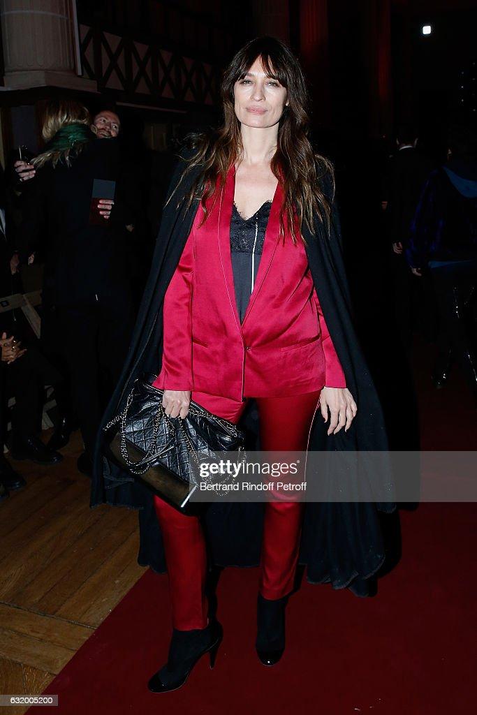 Haider Ackermann : Front Row - Paris Fashion Week - Menswear F/W 2017-2018