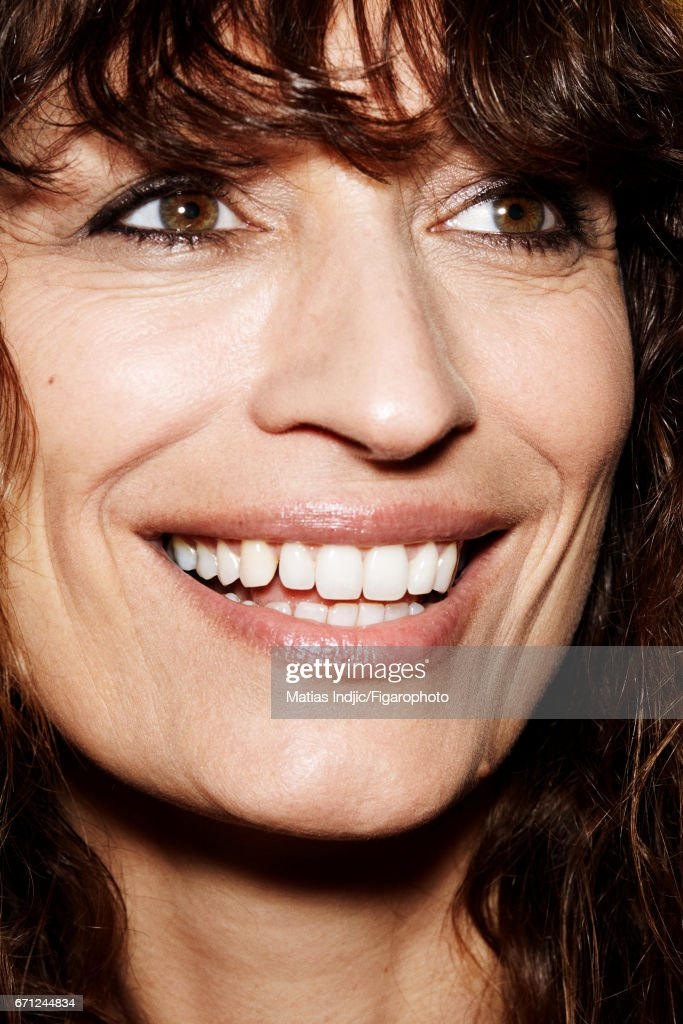 Model Caroline de Maigret is photographed for Madame Figaro on March 14, 2017 in Paris, France. PUBLISHED IMAGE.