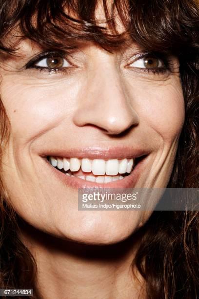 Model Caroline de Maigret is photographed for Madame Figaro on March 14 2017 in Paris France PUBLISHED IMAGE CREDIT MUST READ Vincent...