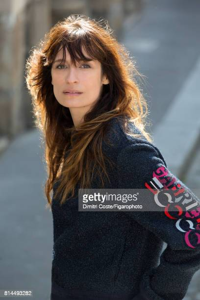 Model Caroline de Maigret is photographed for Madame Figaro on May 10 2017 in Paris France CREDIT MUST READ Dimitri Coste/Figarophoto/Contour by...