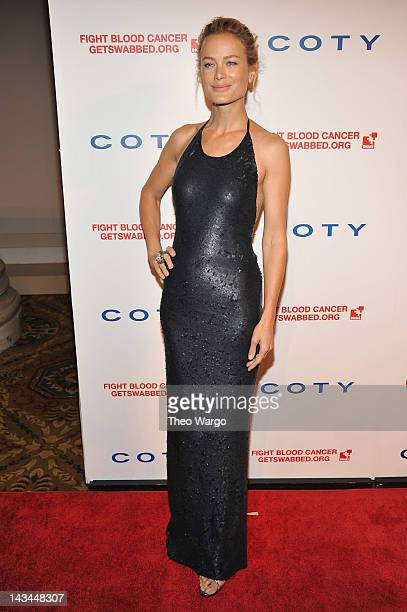 Model Carolyn Murphy attends the 6th annual DKMS Linked Against Blood Cancer gala at Cipriani Wall Street on April 26 2012 in New York City