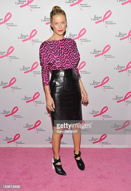 Model Carolyn Murphy attends The Breast Cancer Research Foundation's 2012 Hot Pink Party at The Waldorf=Astoria on April 30 2012 in New York City