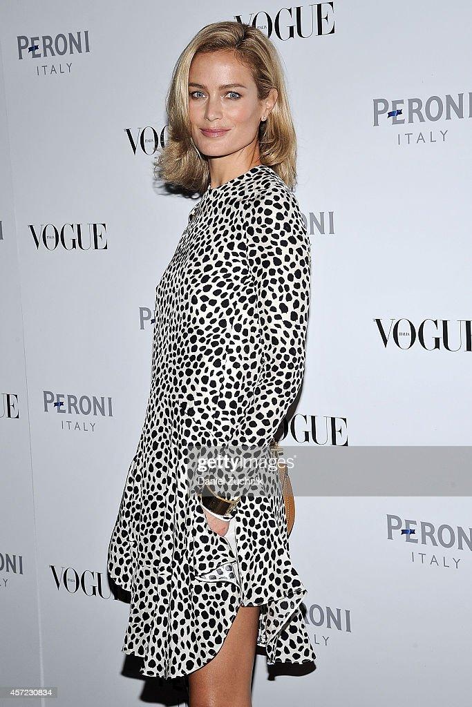 Vogue Italia Opening Night Exhibition : News Photo