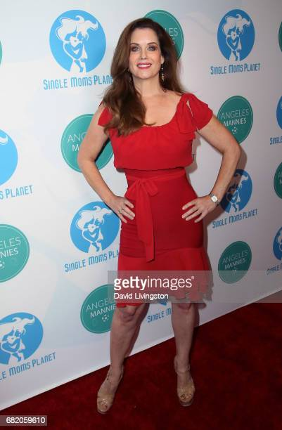 Model Carrie Stevens attends the Single Mom's Awards at The Peninsula Beverly Hills on May 11 2017 in Beverly Hills California