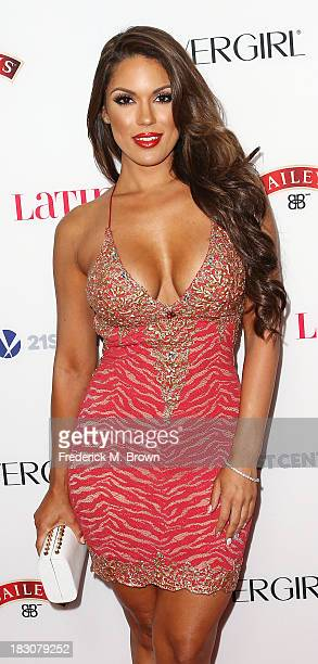 Model Carrisa Rosario attends Latina Magazine's Hollywood Hot List Party at The Redbury Hotel on October 3 2013 in Hollywood California