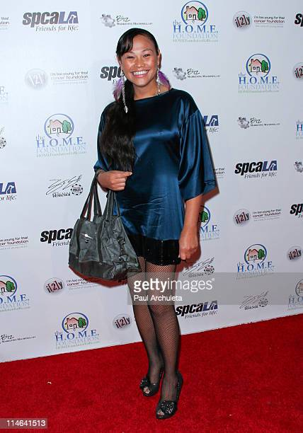 Model Cassandra Hepburn arrives at The HOME Foundation's celebrity Casino Royale fundraiser at Avalon on May 24 2011 in Hollywood California