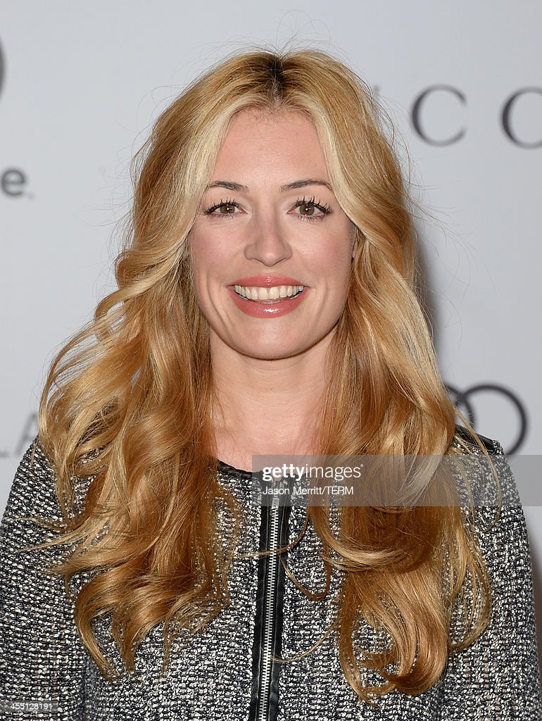 Model Cat Deeley arrives at The Hollywood Reporter's 22nd Annual Women In Entertainment Breakfast at Beverly Hills Hotel on December 11, 2013 in Beverly Hills, California.