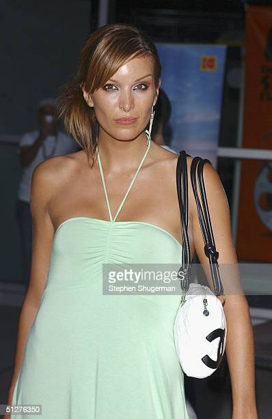 Model Catalina Guriado attends the premiere of VLAD at the Arclight Theater on September 8 2004 in Hollywood California