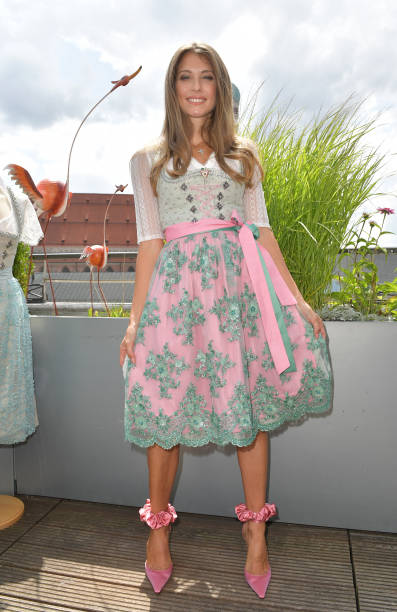 DEU: Cathy Hummels By Angermaier - Collection Presentation In Munich