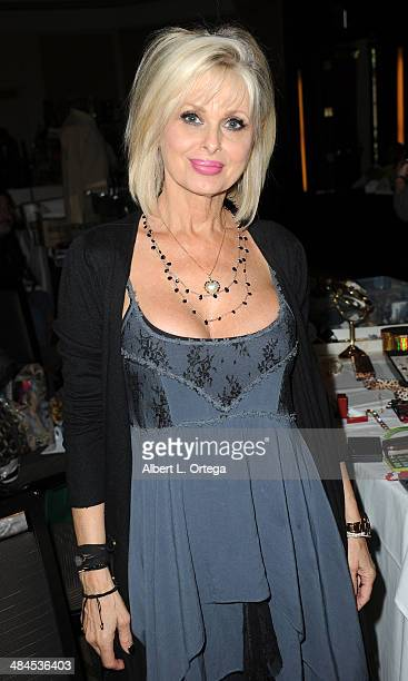Model Cathy St George attends The Hollywood Show 2014 held at Westin LAX Hotel on April 12 2014 in Los Angeles California