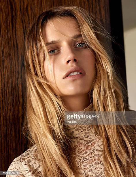 Model Cato Van Ee is photographed for a fashion editorial for Vogue Taiwan on May 24 2016 in Los Angeles California
