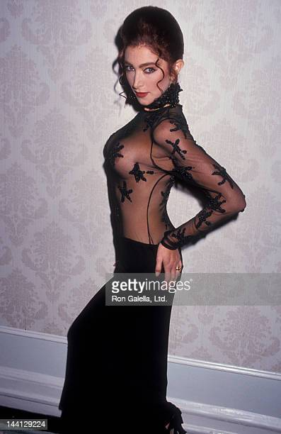 Model Catya Sassoon attending Cocktail Party for Playboy's Playmate of the Year on May 13 1993 at the Plaza Hotel in New York City New York