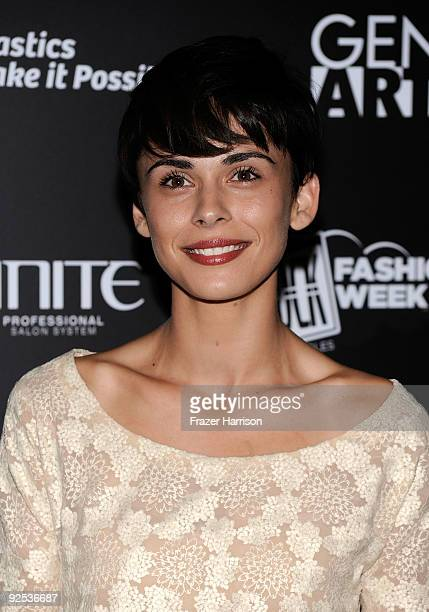 Model Ceren Alkac at Gen Art's 12th Annual Fresh Faces In Fashion at the Petersen Automotive Museum on October 29 2009 in Los Angeles California