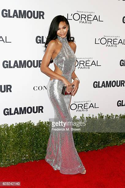 Model Chanel Iman attends Glamour Women Of The Year 2016 at NeueHouse Hollywood on November 14 2016 in Los Angeles California