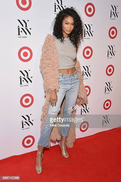 Model Chanel Iman attends Target IMG's NYFW kickoff at The Park at Moynihan Station on September 6 2017 in New York City