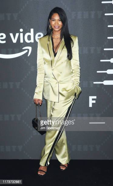 Model Chanel Iman attends the Savage x Fenty arrivals during New York Fashion Week at Barclays Center on September 10 2019 in New York City