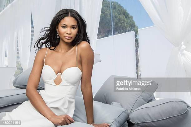 Model Chanel Iman is photographed for The Hollywood Reporter on May 15 2015 in Cannes France