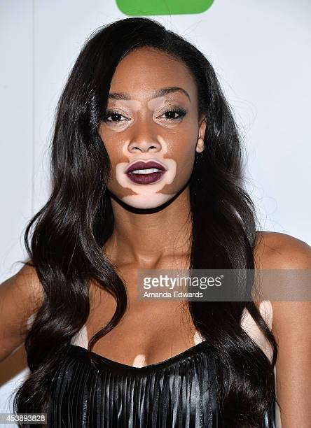 Model Chantelle BrownYoung arrives at the America's Next Top Model Cycle 21 Premiere Party Presented By NYLON and LINE at SupperClub Los Angeles on...